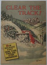 Clear The Track! #nn (1954, Association of American Railroads), VFN-NM condition