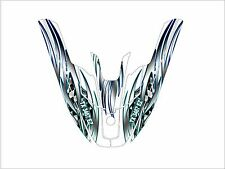 kawasaki 650 sx jet ski wrap graphics pwc stand jetski decal kit blue tribal kit