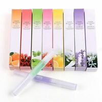 1pc Mix Taste Cuticle Revitalizer Oil Pen Nail Art Care Treatment Manicure Tool