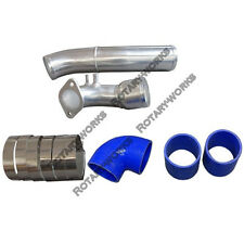 Cold Air Intake Pipe Kit For 92-02 RX7 RX-7 FDStock Twin Turbo Blue