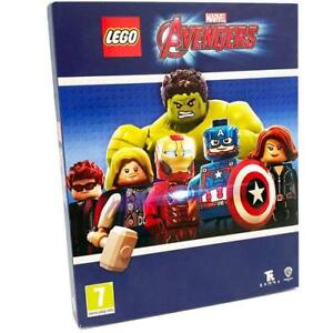 LEGO Marvel Avengers PS4 GAME with Special Edition Slip Cover NEW