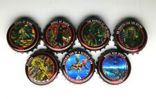 BOTTLE CROWN CAPS IRON MAIDEN TROOPER  COLLECTION x7