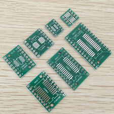 7value*5pcs PCB Board Kit SOP MSOP SSOP TSSOP SOT23 8 10 14 16 20 24 SMT To DIP