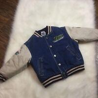 Buzz Lightyear Toy Story Disney Store Denim Varsity Jacket Kids 2/3