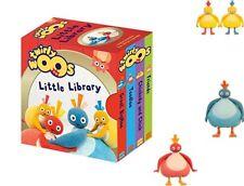 Twirlywoos Little Library Four Mini Books Baby Toddler Little Slipcased Set GIFT