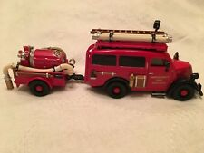Matchbox Yesteryear Fire Engine Series - 1950 Ford E83W Van YPE18