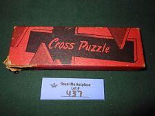 Vintage Zondervan's Wooden Cross Puzzle