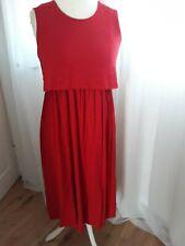 Asos Red Maternity nursing dress  size 10
