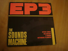 """THE SOUND MACHINE-EP3 (WARNER 7"""") STEVE EARLE/HOTHOUSE FLOWERS/MCCARTHY/A HOUSE"""