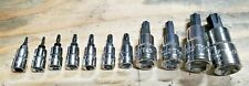 Williams 11pc Torx Socket Driver Set T8 T60 By Snap On Industrial Division