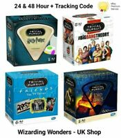 Trivial Pursuit Game Harry Potter Friends Lord Of The Rings Gift Official