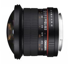 Samyang 12mm F2.8 ED AS NCS Full Frame Fisheye Lens: Fujifilm X Mount