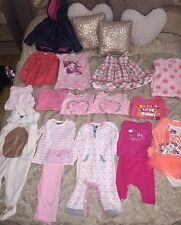 Baby Girl Clothes Bundle 9-12 Months Babygrows Dresses Top & Skirt Set Jacket