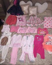 Baby Girl Clothes Bundle 9-12 Months Babygrows Dresses Top & Skirt Set Jacket