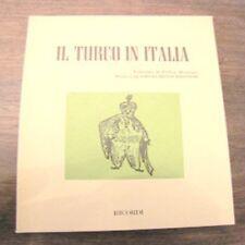 Libretto D'opera Il turco in Italia Gioachino Rossini