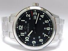 SWIZA MEN'S kretos Men's Watch, svizzero al quarzo, 42mm Custodia, bracciale in acciaio