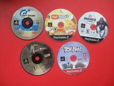 Playstation 1 2 Lot of 5 PS 1 2 Games Gran Turismo Madden 2005 Test Drive VIP