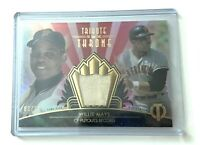 Willie Mays 2014 Topps Tribute To The Throne Bat Relic 03/10 GIANTS HOF PSA 10