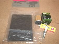 Tune Up Kit Yamaha XT250 XT350 XT 250 350 OEM air filter + Spark plug Oil 84-00