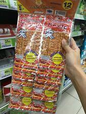Bento Squid Seafood Snack Namprik Thai Original Sweet & Spicy Flavor 5g 12 packs