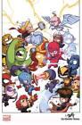 Skottie Young SIGNED Marvel Comics Art Print Avengers Movie Poster Hulk Iron Man