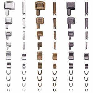 Metal Insertion Pin Zipper Repair Kit Accessories Plug Bag Head Sliders Retainer
