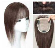 Machine Made Silk Top-effect remy human hair topper falls hairpieces for loss