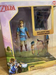 *MINT* *LINK* The Legend of Zelda Figure Exclusive Tunic World of Nintendo NEW