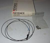 New In Box  KEYENCE Fiber Optic Sensor FU-69X FU69X Cable Cord FU 69 X NO PARTS