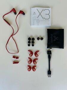 Jaybird X3 Ecouteurs Sport Bluetooth Sans Fil Compatibles IOS et Android Rouge