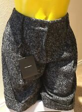 AUTHENTIC RUNWAY DOLCE&GABBANA BLEND WOOL GRAY SHORTS Size 44