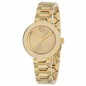 Movado 3600382 Women's Bold Gold Quartz Watch