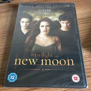 The Twilight Saga New Moon DVD (2010) NEW/SEALED Kristen Stewart Cert 12
