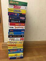 Nintendo Game Boy Boxed Cartridge Game Collection