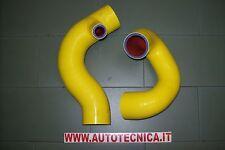 Coppia tubi Manicotti silicone giallo intercooler Lancia Delta Integrale 8v 4wd