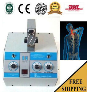 New Lumbar Cervical Traction Physiotherapy Traction Pain Relief Unit by dhl