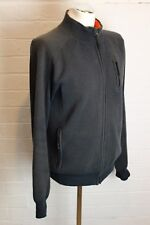TIMBERLAND Mens Long Sleeve Slim Fit Navy Zip Cardigan - Size Large - L