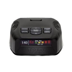 K40 Electronics Platinum100 K40-100 All-Band Portable Radar & Laser Detector