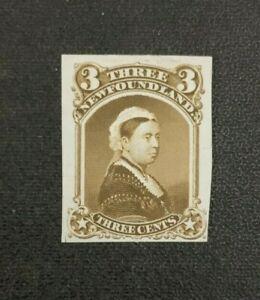 Newfoundland Stamp #35TC1 Trial Color Proof Mint No Gum