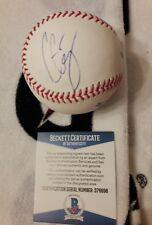 BIG CASS WWE AUTO RAWLINGS OFFICIAL MLB BASEBALL BECKETT COA D76698