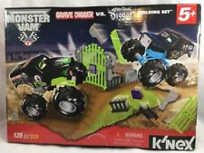 K'Nex Monster Jam Grave Digger vs Son-Uva Digger Building Set 128 pcs