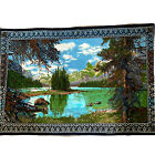 Vintage R.T.C. RN 19963 Nature Landscape Tapestry made in Turkey Wall Hanging