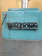 Waldown high speed drilling machine drill single phase Australian made good cond