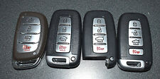 OEM - LOT OF 4 KIA HYUNDAI KIA KEYLESS ENTRY REMOTE Genesis KEY CUT FOBS