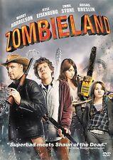 Zombieland ~ Woody Harrelson Jesse Eisenberg Emma Stone ~ DVD WS ~ FREE Shipping