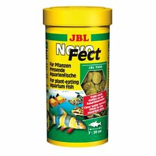 JBL Novofect 100 ML, Food Tablets For Herbivorous Aquarium Fish