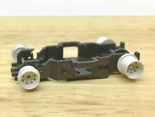 1pc Aurora AFX Magnatraction Slot Car CHASSIS SHELL RARE WHITE WHEEL AXLES CROWN