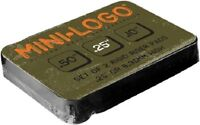 Mini Logo - 1/4 inch Riser Pads - set of two ( .25 inch skateboard risers )