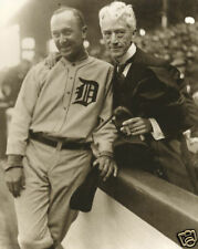 Judge Kenesaw Mountain Landis Black Sox Scandel & Ty Cobb Detroit Tigers 1920