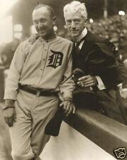 Judge Kenesaw Mountain Landis Black Sox Scandel & Ty Cobb Detroit Tigers 1920